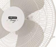 "Buy-Mellerware Fan 3 Speed Pedestal Plastic White 40cm 50W ""Breeze""-Online-in South Africa-on Zalemart"