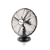 "Buy-Mellerware Fan Desktop Steel Black 30cm 35W ""Aquillo Breeze""-Online-in South Africa-on Zalemart"