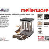 "Buy-Mellerware Food Dehydrator With Drying Shelves Plastic 116W ""Biltong King""-Online-in South Africa-on Zalemart"