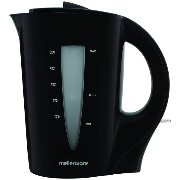 "Buy-Mellerware Kettle Corded Plastic Black 1.7L 2200W ""Sabie""-Online-in South Africa-on Zalemart"