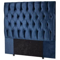Buy-Monarch Headboard Double - Royal Blue-Online-in South Africa-on Zalemart