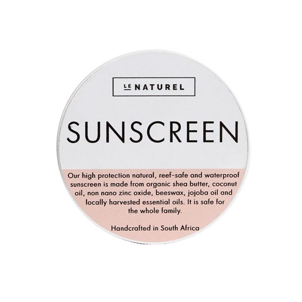 Natural Sunscreen 30ml - Zalemart