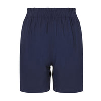 Navy Maternity Shorts - Zalemart
