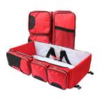Nuovo - 4-in-1 Nappy Bag - Red - Zalemart