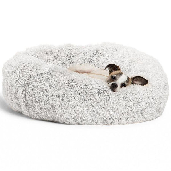 Buy-Plush pet bed 80cm - White-Online-in South Africa-on Zalemart