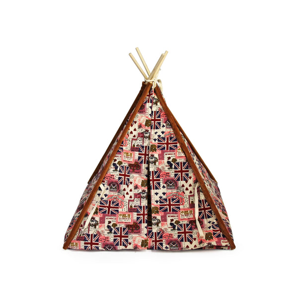 Buy-Rex - Pet Teepee Tent - Flag-Online-in South Africa-on Zalemart