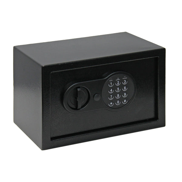Safe Locker - Medium - Black - Zalemart