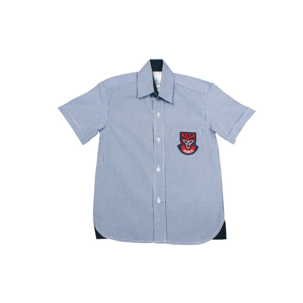 Buy-Shortsleeve Check Emb Shirt - Kenmont-Age 6-Online-in South Africa-on Zalemart
