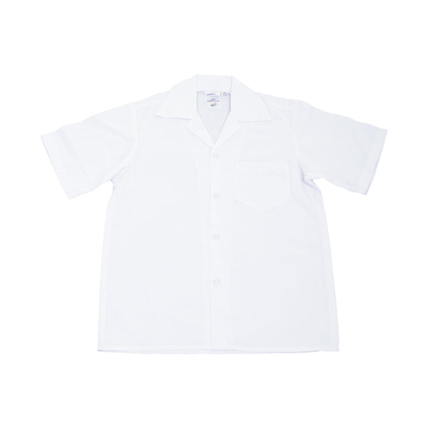 Buy-Shortsleeve Gladneck Shirt - White-Age 5-Online-in South Africa-on Zalemart