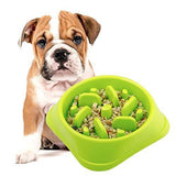 Slow Feeder Pet Bowl - Assorted Colours - Zalemart