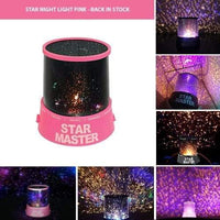 Star Night Light - Pink - Zalemart