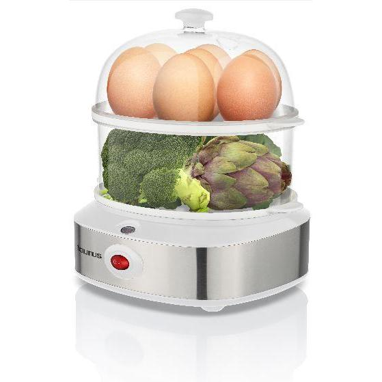 "Buy-Taurus Egg Boiler 14 Egg Plastic 2 Tier 360W ""Vapor D'ou""-Online-in South Africa-on Zalemart"