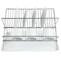 Vancouver Dish Rack - White - Zalemart