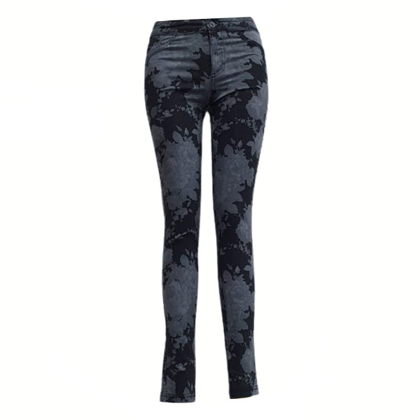 Buy-Women's Medium Rise Denim Jeans-Black-Extra Small-Online-in South Africa-on Zalemart