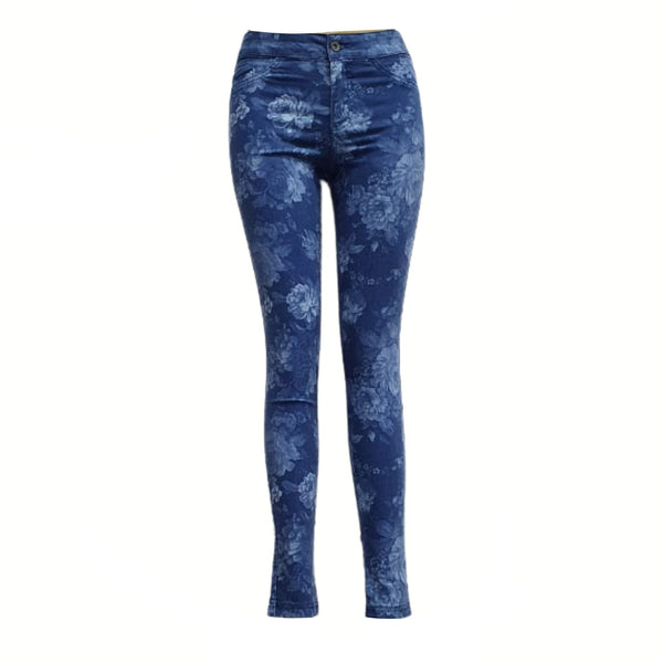 Buy-Women's Medium Rise Denim Jeans-Light Blue-Extra Small-Online-in South Africa-on Zalemart