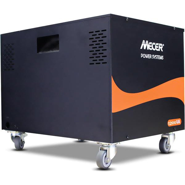 MECER 1.2KVA/720W Inverter With Housing & Wheels (EXCLUDES BATTERY)