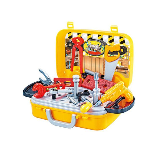 Jeronimo - Tool suitcase set -Yellow