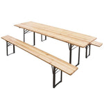Fine Living - Beer Garden Bench - Zalemart