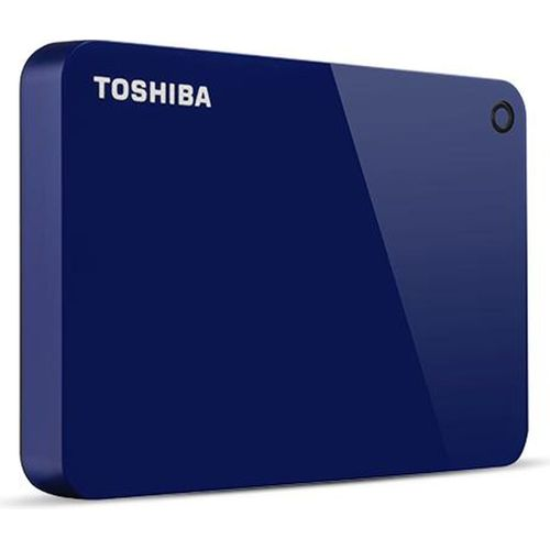 Toshiba Canvio Advance 4TB Portable External Hard Drive - Blue