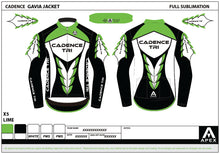 Load image into Gallery viewer, CADENCE TRI GAVIA LONG SLEEVE JACKET