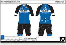 Load image into Gallery viewer, PH MILNES PRO RACE SUIT - SHORT SLEEVE