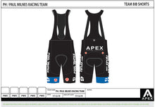 Load image into Gallery viewer, PH MILNES TEAM BIB SHORTS