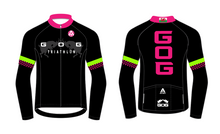 Load image into Gallery viewer, GOG PRO LONG SLEEVE AERO JERSEY - black