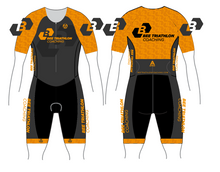 Load image into Gallery viewer, BEE TRI COACHING PRO SPEED TRI SUIT