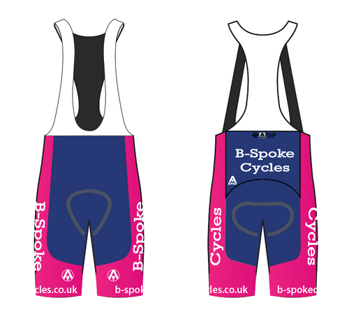 BSPOKE TEAM BIB SHORTS