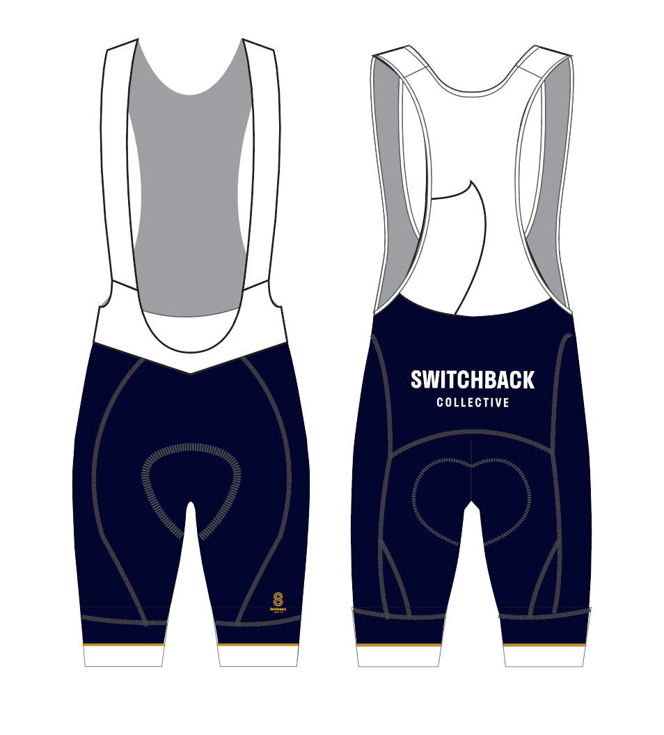 SWITCHBACK COLLECTIVE PRO BIB SHORTS