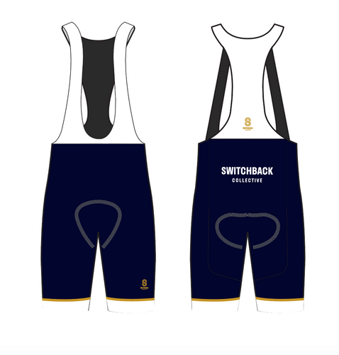 SWITCHBACK COLLECTIVE TEAM BIB SHORTS