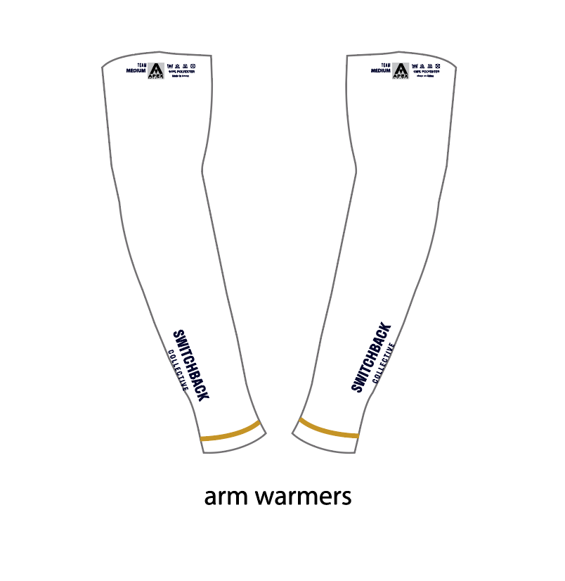SWITCHBACK COLLECTIVE ARM WARMERS