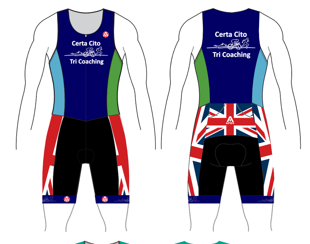 CERTA CITO TEAM TRI SUIT