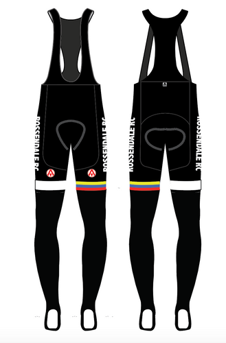 ROSSENDALE TEAM BIB TIGHTS
