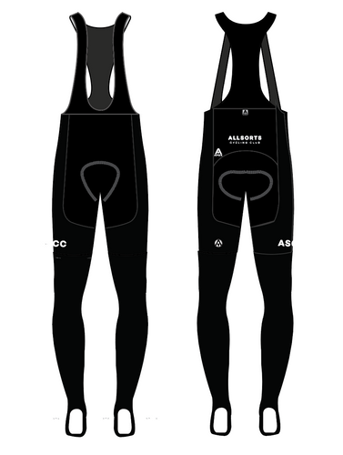 ALLSORTS TEAM BIB TIGHTS