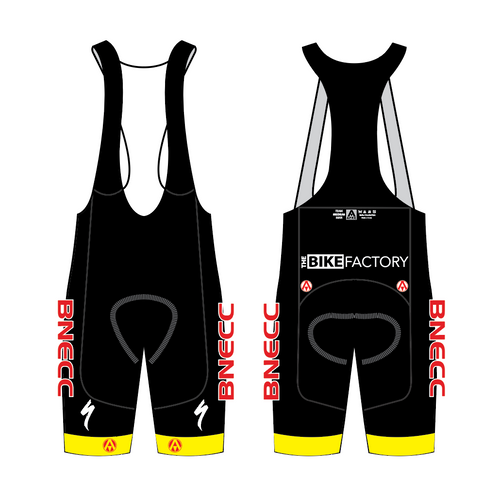 BNECC ELITE BIB SHORTS