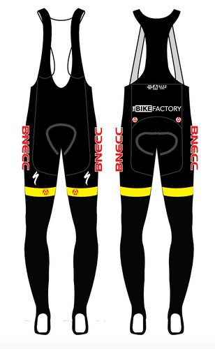 BNECC TEAM BIB TIGHTS