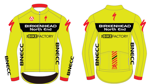 BNECC GAVIA LONG SLEEVE JACKET - YELLOW
