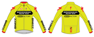 BNECC MISTRAL JACKET - YELLOW