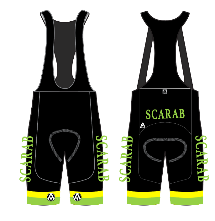SCARAB TRI ELITE BIB SHORTS