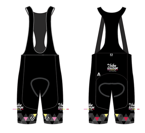 The Bike Lounge TEAM BIB SHORTS