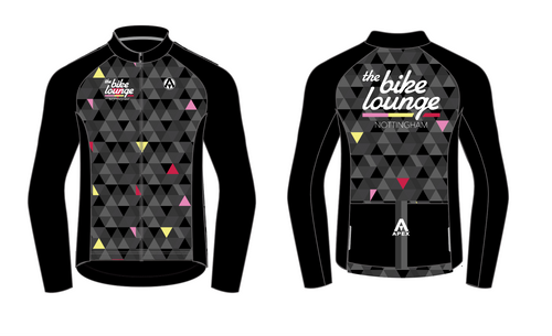 The Bike Lounge PRO LONG SLEEVE AERO JERSEY