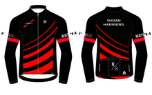 Load image into Gallery viewer, WIGAN HARRIERS TRI FLEECE JACKET