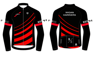 WIGAN HARRIERS TRI FLEECE JACKET