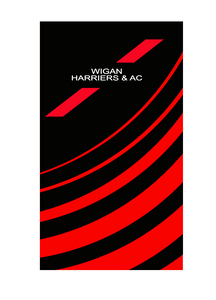 WIGAN HARRIERS TRI Neck Warmer