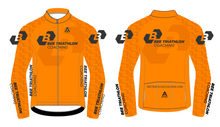 Load image into Gallery viewer, BEE TRI COACHING STELVIO WINTER JACKET -ORANGE DESIGN