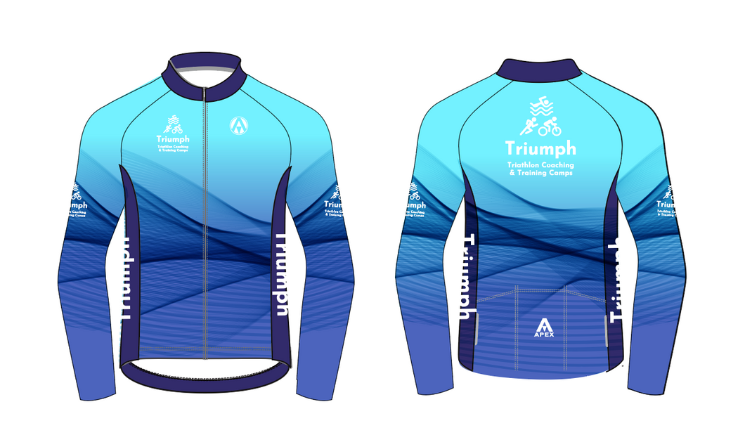 TRIUMPH COACHING PRO LONG SLEEVE AERO JERSEY
