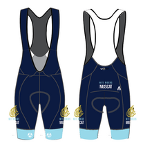 Load image into Gallery viewer, MUSCAT NITE RIDERS PRO BIB SHORTS - NAVY