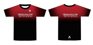 WILMSLOW STRIDERS TEAM T SHIRT