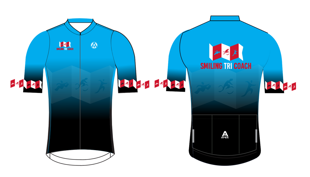 SMILING TRI COACH PRO SHORT SLEEVE JERSEY